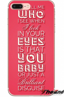 Brilliant Disguise Lyric Bruce Springsteen Red Phone Case iPhone