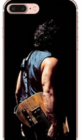 Beyond Bruce Springsteen Dark Theme Background one Case iPhone