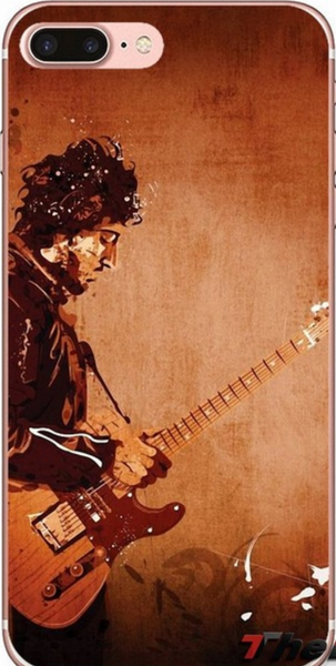 Acoustic Art Bruce Springsteen Live Black Phone Case iPhone