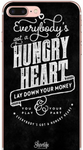 Hungry Heart Lyrics Bruce Springsteen Black Phone Case iPhone