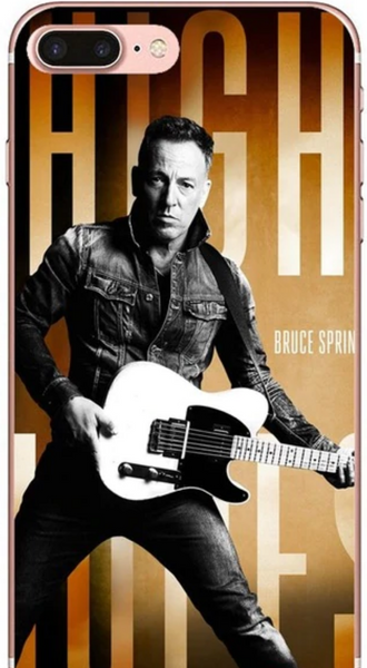 High Hopes Bruce Springsteen Album Cover Phone Case iPhone