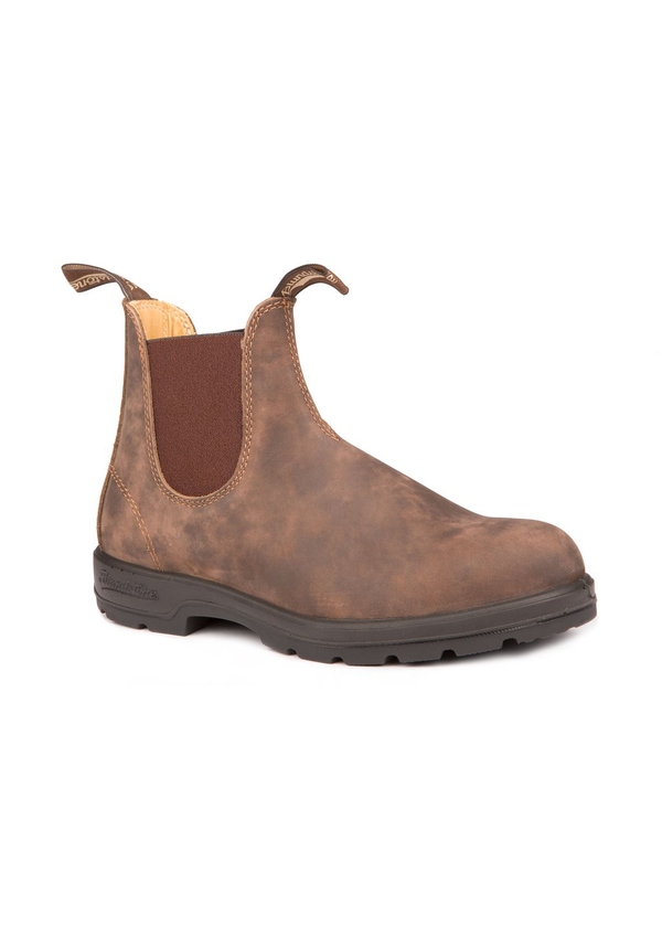 Blundstone 585 leather lined rustic brown