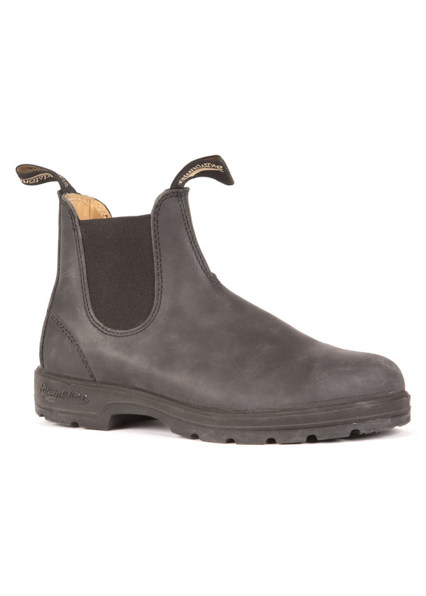 Blundstone 587 leather lined rustic black