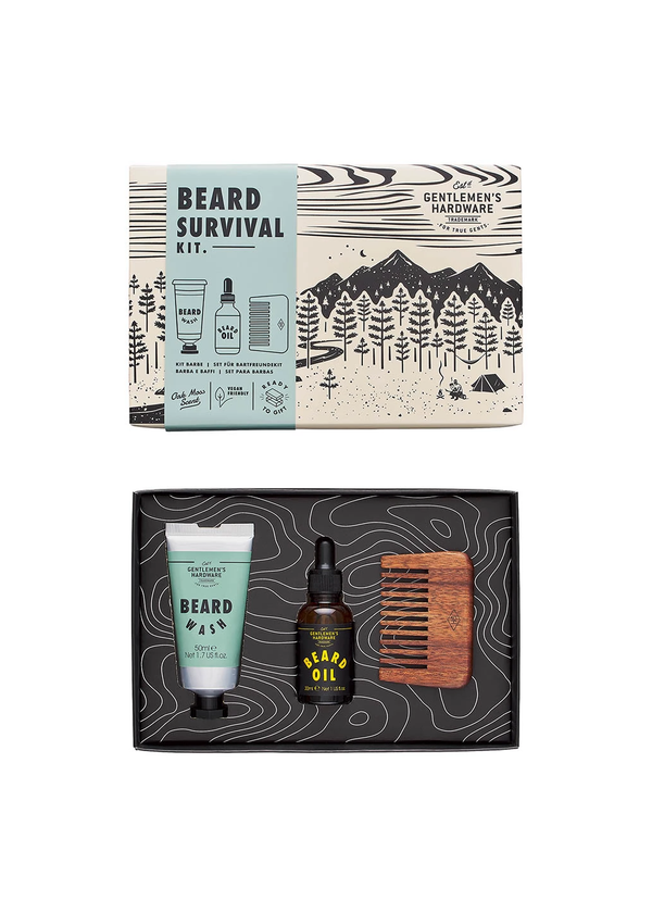 Gentleman's Hardware Beard Survival Kit