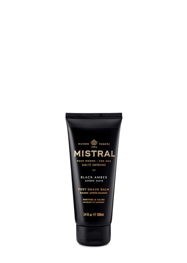 Black Amber Post Shave Balm