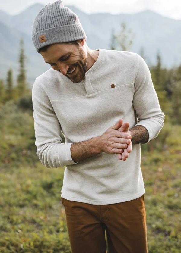 Tentree Men's Bowden Long Sleeve Henley