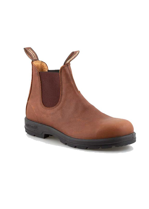 Blundstone 1445 round toe grizzly brown