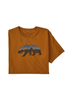 Men's Fitz Roy Bear Organic Cotton T-Shirt