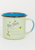 Honey Bee Enamel Steel Mug - 22oz