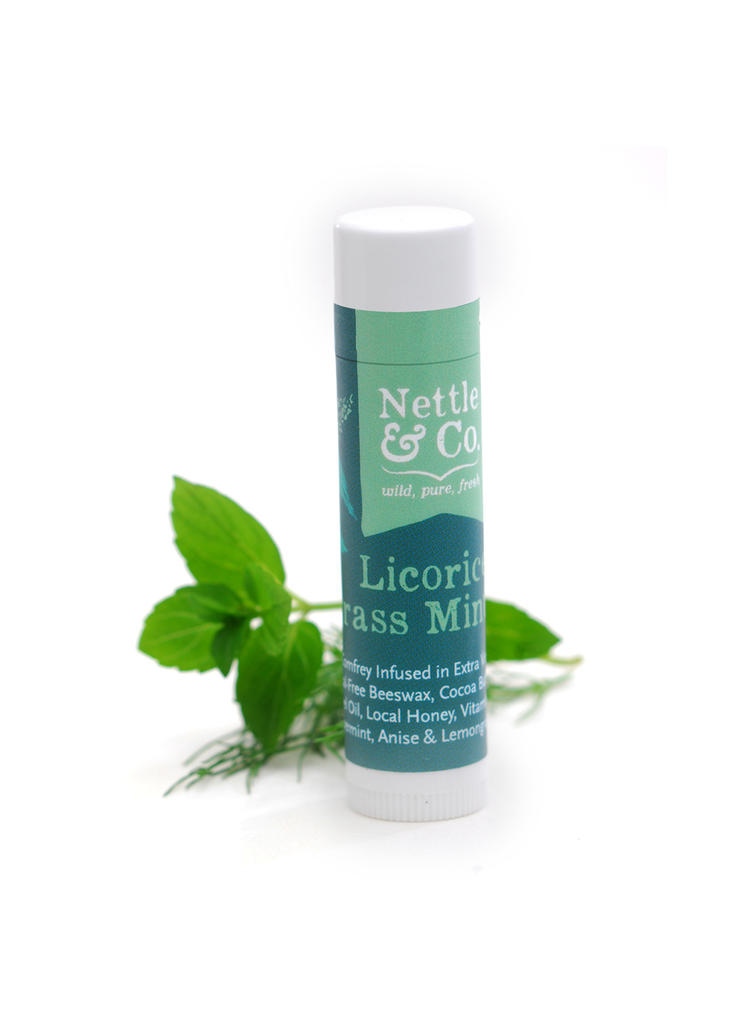 Licorice Lemongrass Mint Lip Balm