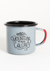 Mountains Are Calling Enamel Mug - 12oz