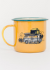 Pack Up & Go Enamel Steel Mug -22oz