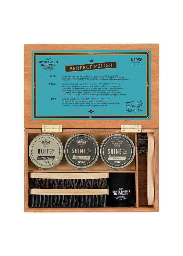 Shoe Shine Cigar Box No.256