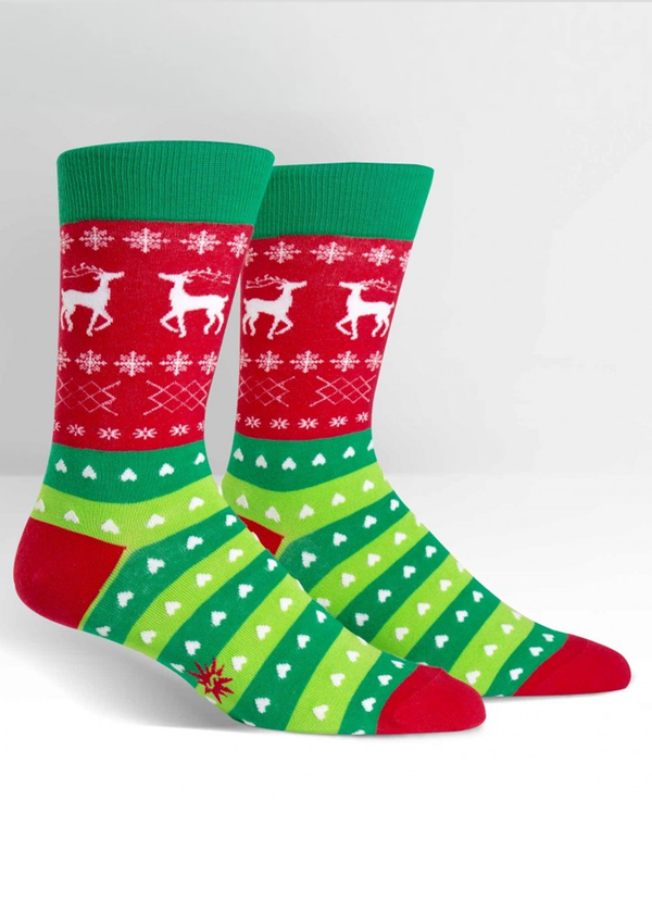 Sock It To Me Tacky Holiday Sweater Sock