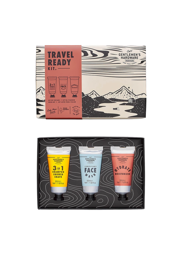 Gentleman's Hardware Travel Ready Kit