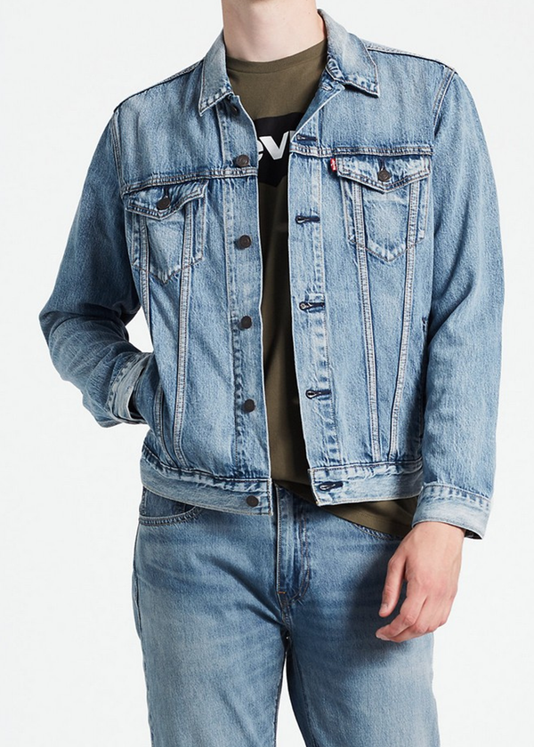The Trucker Jacket - Light Wash