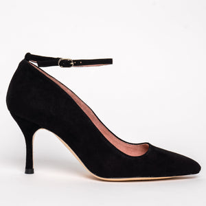 Ankle Strap Pump - Comfortable Heels - Ally Shoes
