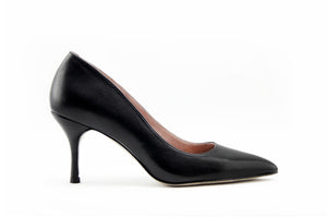 ALLY LITE: Little Black Heels (Leather & Suede)