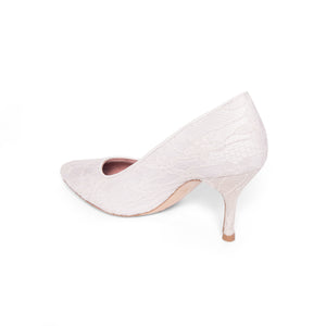 Lady Lace Pump - Comfortable Heels - Ally Shoes