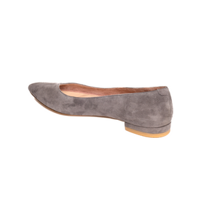Seize the Gray Suede Flat
