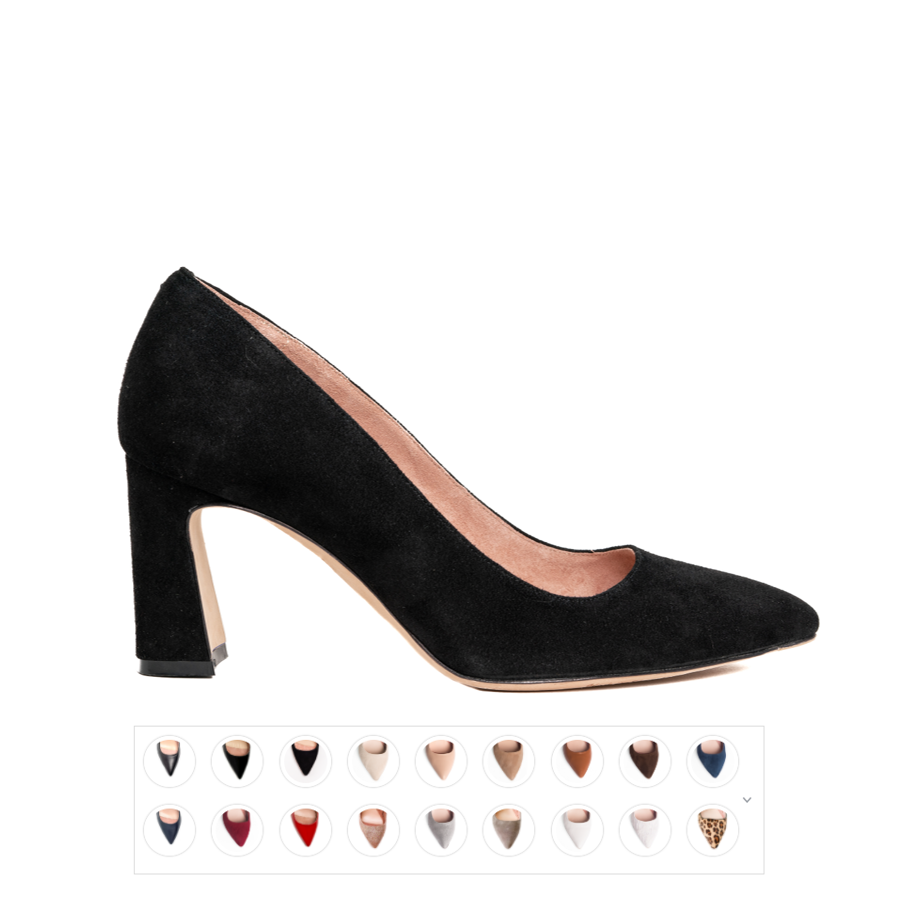 Multiple Colors - Block Heel Pump