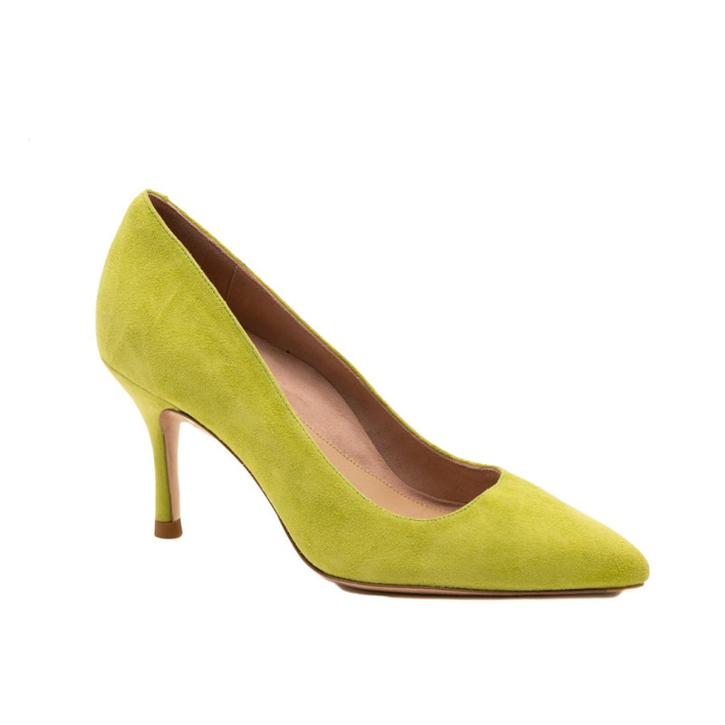 Lively Lime Suede Pump (Limited Edition)