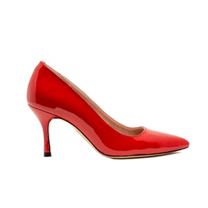 Red Patent Leather Pump