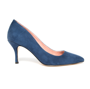 Noble Navy Suede Pump