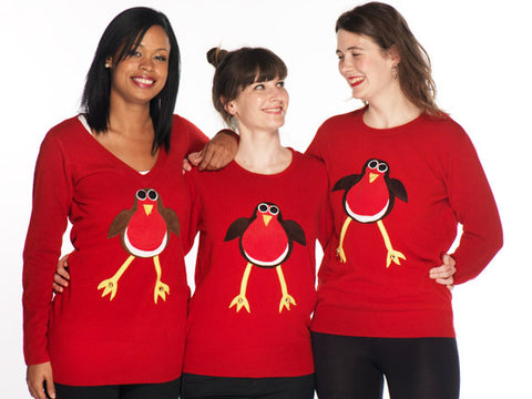 Robin Christmas Jumpers