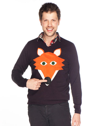 Fox Jumper by Woolly Babs