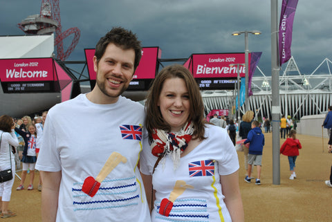 Olympic T shirts Woolly Babs Olympic Park