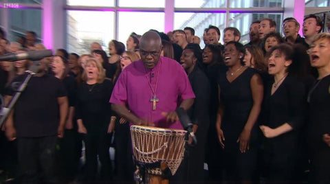 Woolly Babs One Show John Sentamu York Conga
