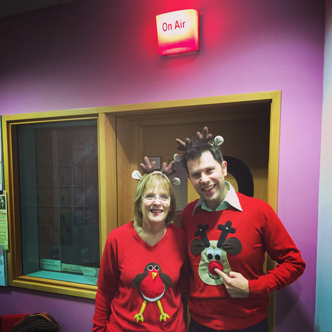 Christmas jumpers BBC Radio Leeds
