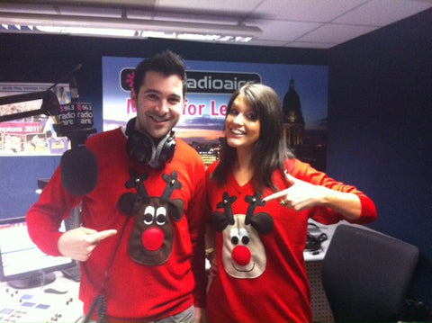 festive jumper thursday radio aire christmas jumpers