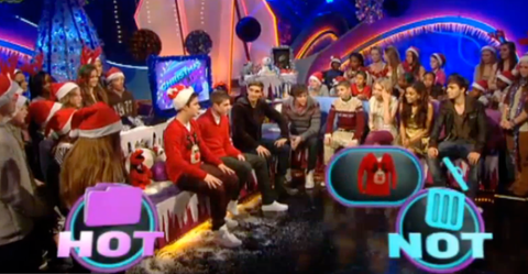 The Wanted Christmas Jumpers CBBC Friday Download Ceallach Spellman