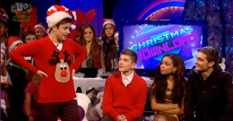 The Wanted Christmas Jumpers CBBC Friday Download Cel Ceallach Spellman