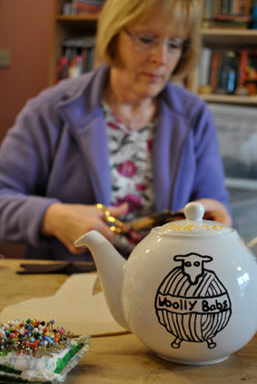Woolly Babs Teapot