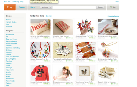 Woolly Babs Etsy front page