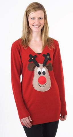 Woolly Babs Christmas Jumper Dress
