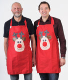 SOLD OUT Christmas Apron Rudolph Reindeer