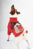 Dog Christmas Jumper Rudolph Reindeer