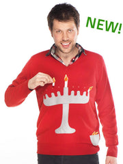 Novelty Hanukkah Jumper Sweater