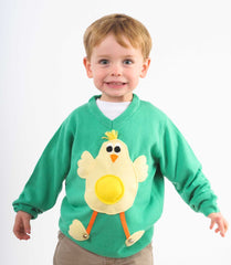 Kids' Chick Easter Jumper