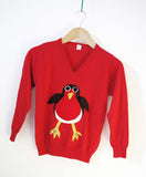 Kids' Rodney Robin Christmas Jumper