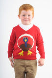 Kids Terrence Turkey Christmas Jumpers