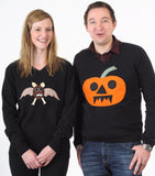 Unisex Halloween Jumper Bertie Bat