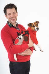 matching christmas jumpers dog christmas outfit