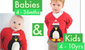 Baby Christmas Jumpers Kids Christmas Jumpers