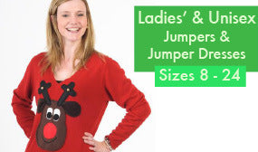 Women's Christmas Jumpers Ladies