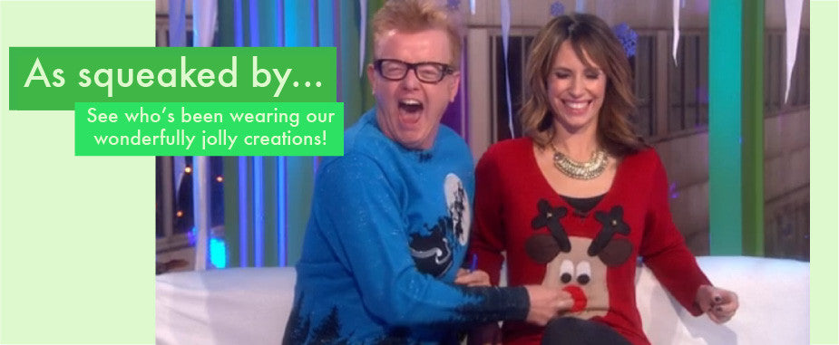 Radio Aire Christmas Jumpers by Woolly Babs